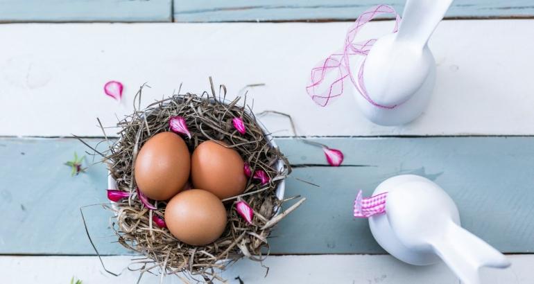 Мембрана от яйчени черпупки за подхранване на кожата