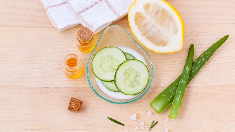 Органични козметични продукти с растителен произход